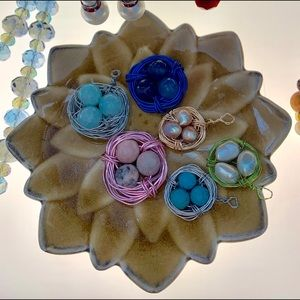 Jewelry - Wired birds nests